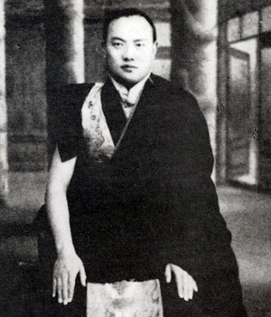 The 16th Karmapa as a young man