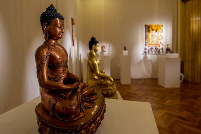 Bratislava amazed by Buddhist art exhibition