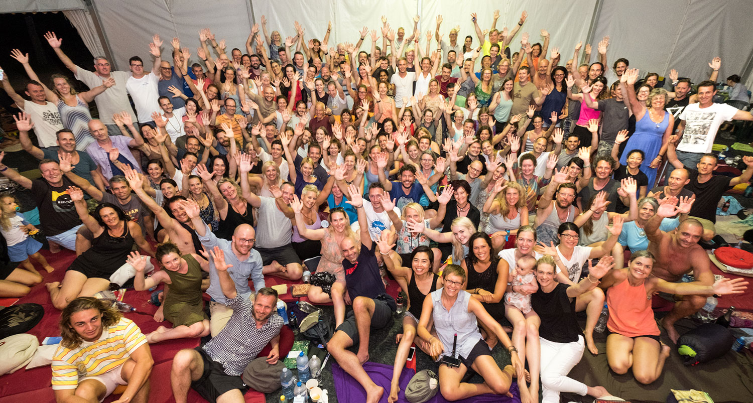 Ballina Mahamudra Course group picture