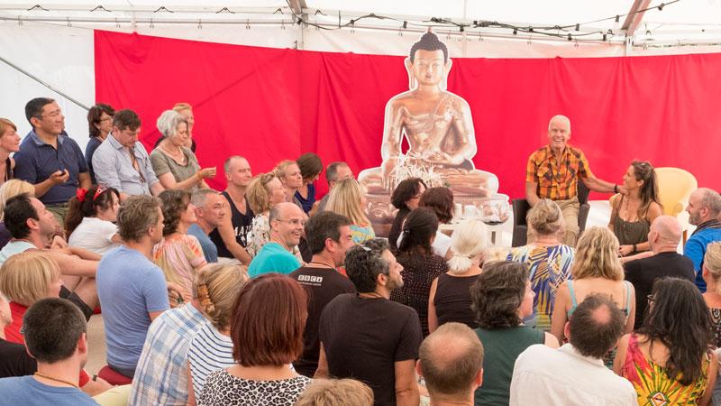 Lama Ole meets with Diamond Way Teachers