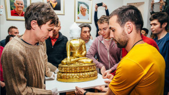 Moscow Buddhist Center moves and grows