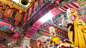 Karmapa Thaye Dorje inaugurates Nala Gompa near Kathmandu