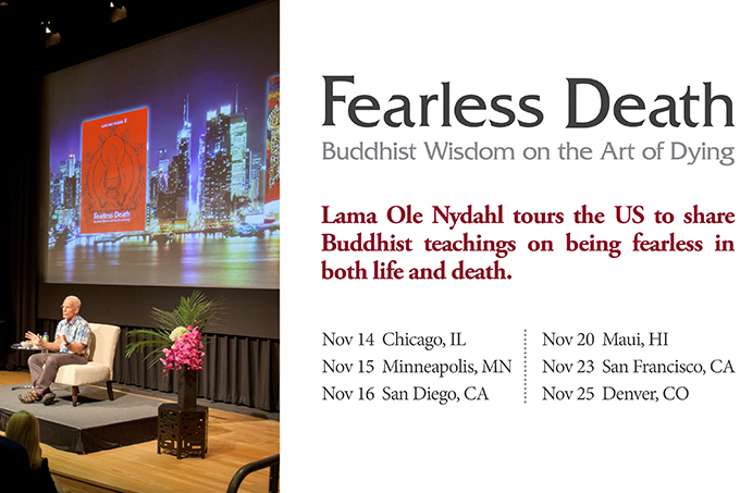Fearless Death Book tour in USA