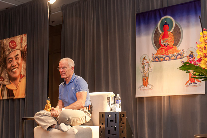 Phowa course in New York – our largest meditation course in the US