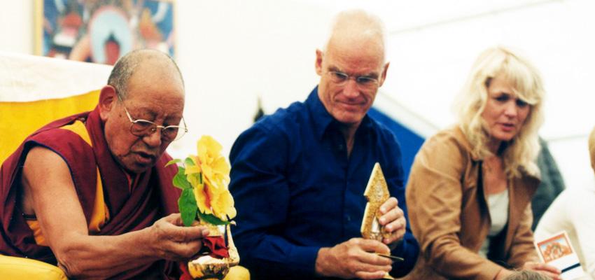 Lopon Tsechu Rinpoche, Lama Ole Nydahl, Hannah Nydahl