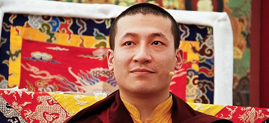 The 17th Gyalwa Karmapa Trinley Thaye Dorje