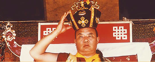 The 16th Karmapa Rangjung Rigpe Dorje