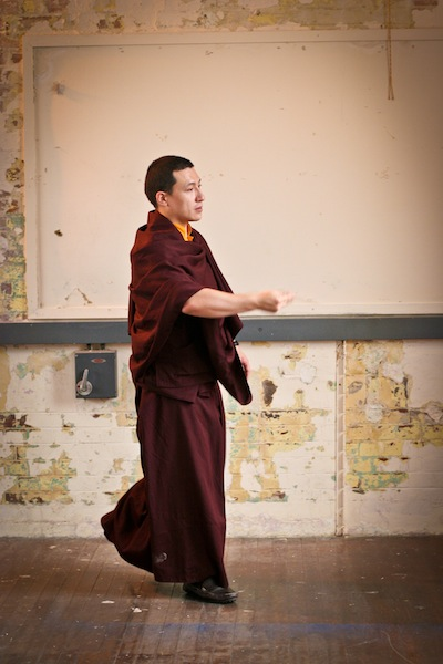 Beaufoy blessing by H.H. 17th Karmapa Trinley Thaye Dorje