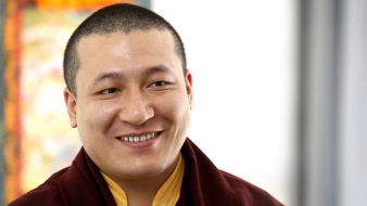 New video: the 17th Karmapa on how to practice Buddhist meditation