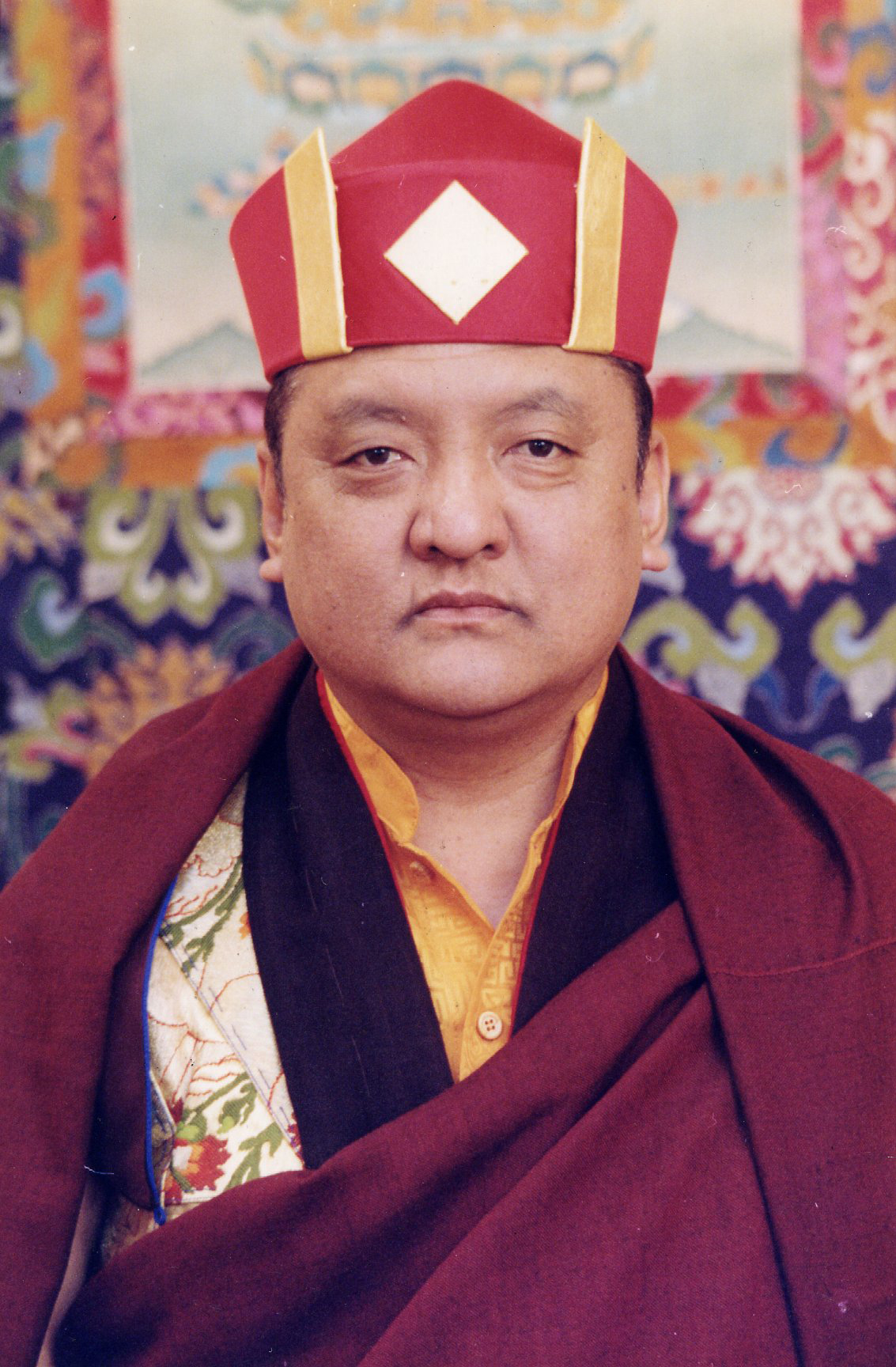 The 14th Kunzig Shamar Rinpoche