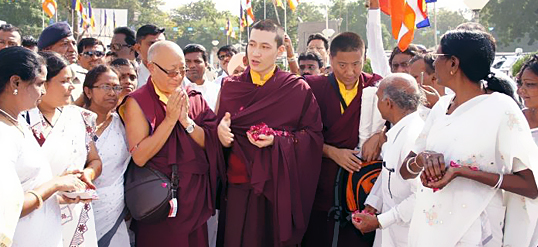 The 17th Karmapa in India