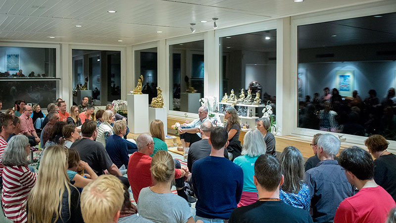 Meditation Course in Amden Switzerland
