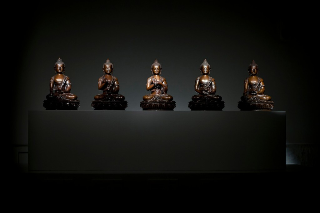 "Buddhist statue exhibition ""Space and Bliss – Buddhas in the Alps"""