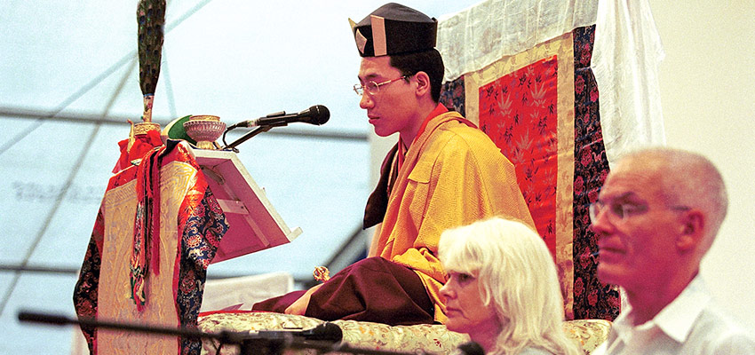 HH 17th Karmapa, Hannah Nydahl and Lama Ole Nydahl