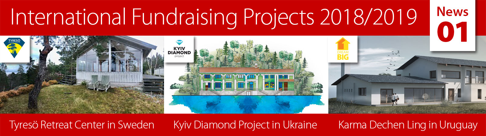 International Fundraising Projects News 01