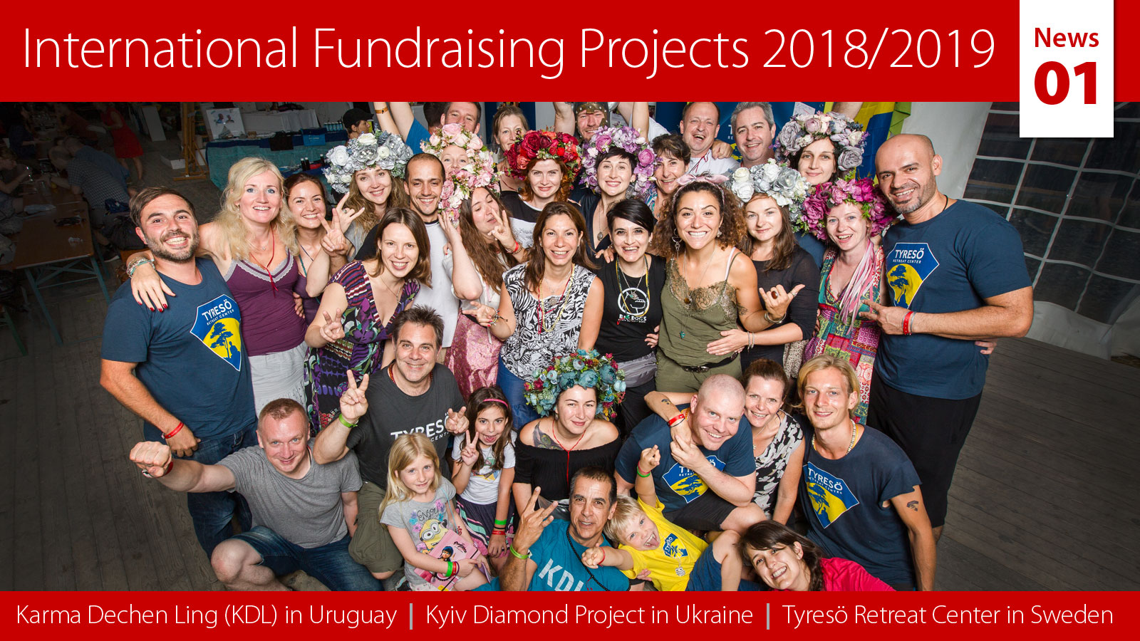 International Fundraising Projects 2018/2019 – News 01