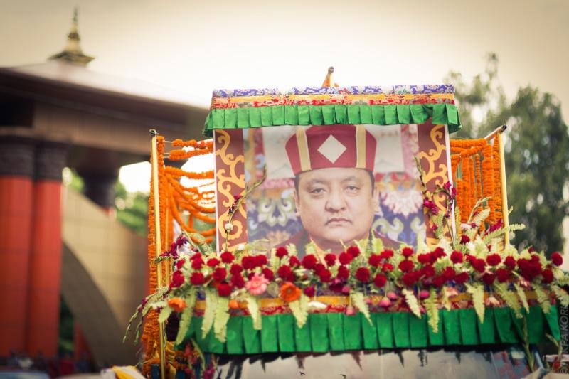 Shamar Rinpoche arrives in Kathmandu, Nepal