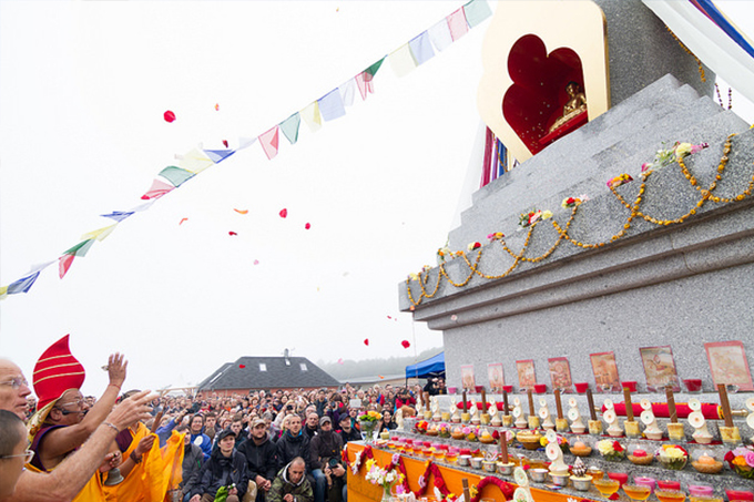 The Enlightenment Stupa inaugurated in the Czech Republic