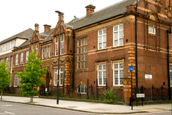 Buddhist Center at the Beaufoy Institute, Lambeth, London