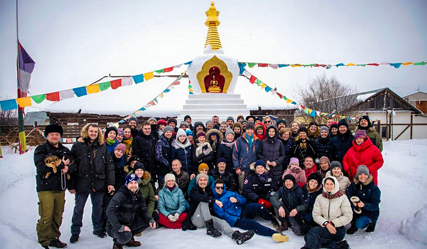 A one-month meditation course between Moscow and Vladivostok