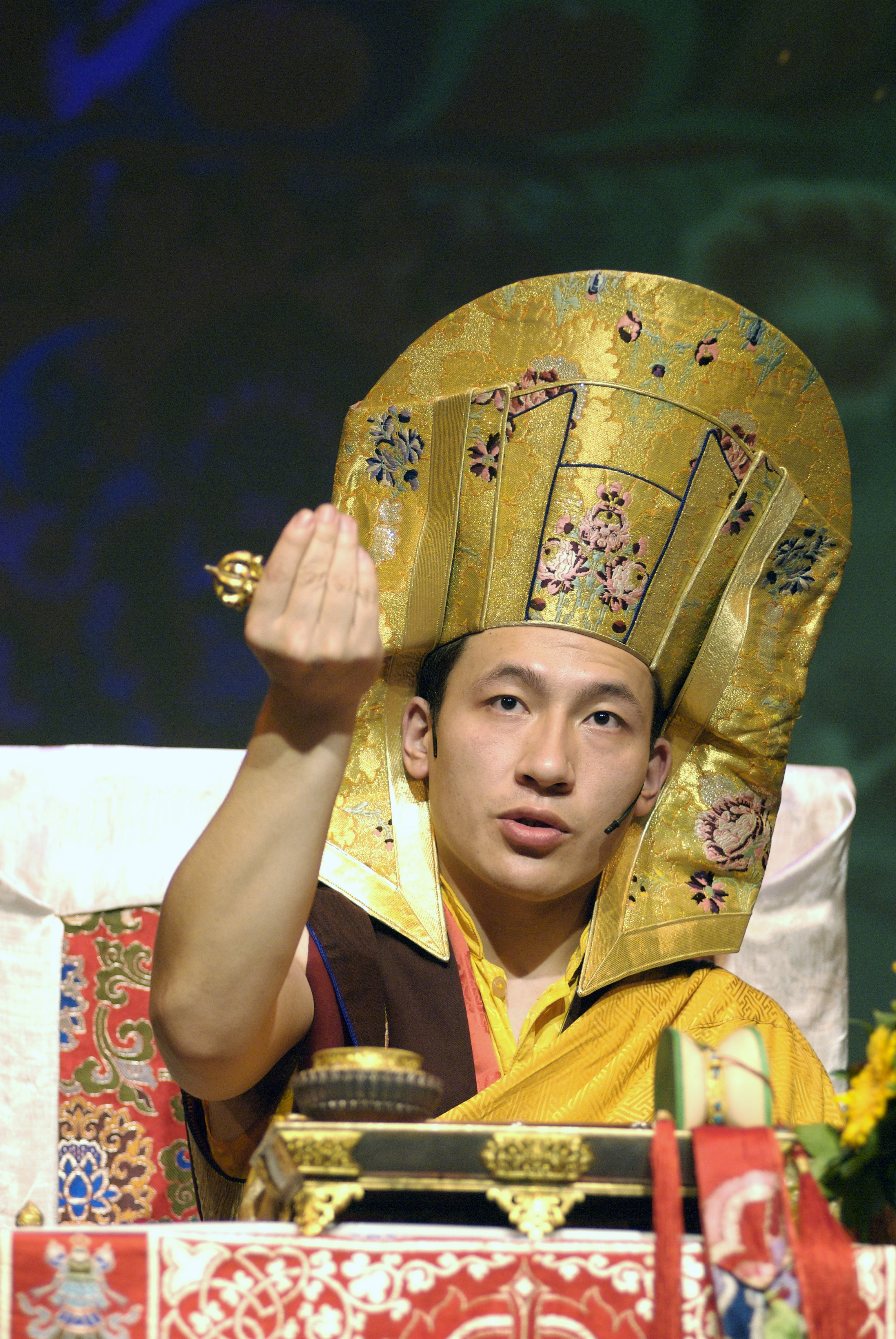 17th Karmapa in Zurich in 2007
