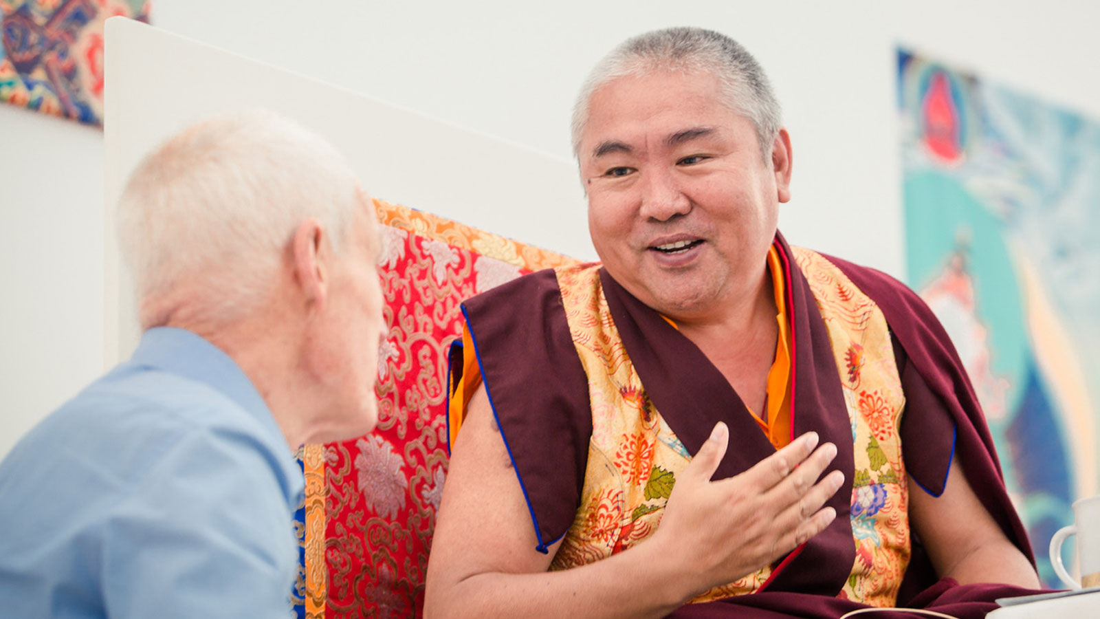 Nedo Rinpoche visits the Europe Center in Immenstadt