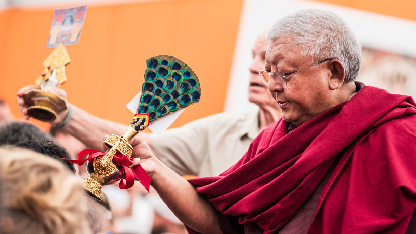 The 2018 Summer Course: Lama Jigme Rinpoche teaches at the Europe Center