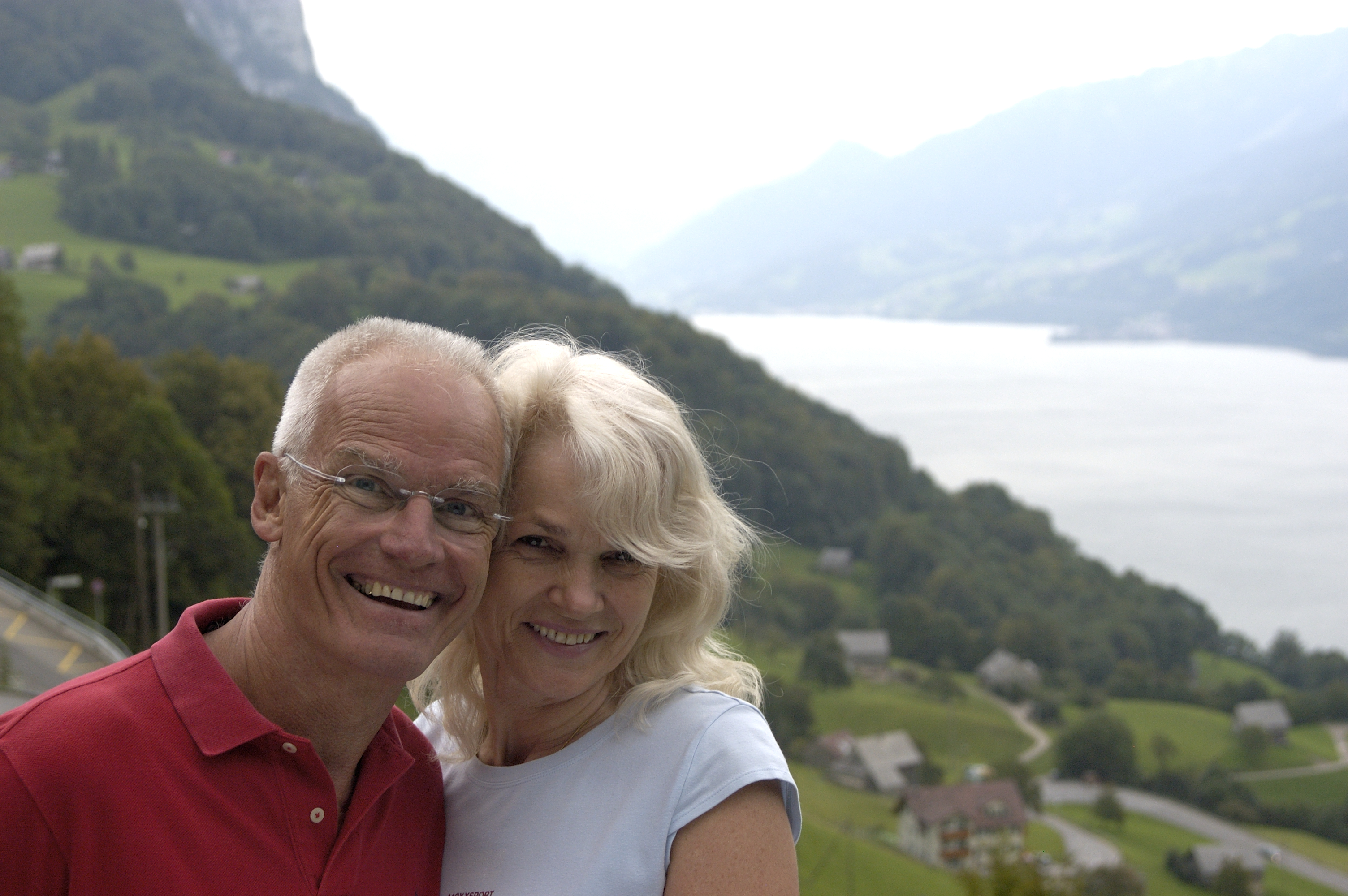 Lama Ole and Hannah Nydahl