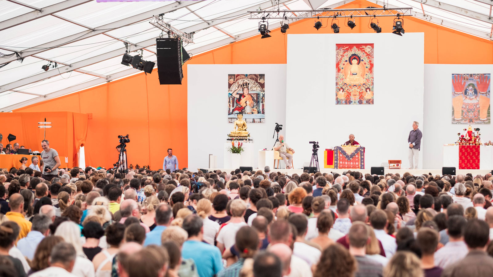 Buddhists from over 50 countries attend the Summer Course in Immenstadt