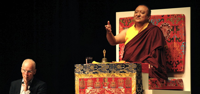 Kunzig Shamar, the 14th Shamar Rinpoche